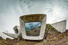 Messner Mountain Museum Corones on Kronplatz Stock Image
