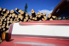 Messwagen-Haube mit Klotz Lizenzfreie Stockfotos