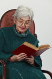 Messwert der alten Frau Lizenzfreie Stockbilder