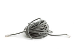 Messy cable Royalty Free Stock Photos