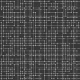 Messy connected dots seamless background. Royalty Free Stock Image
