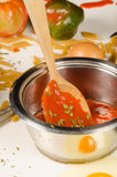 Messy cooking Royalty Free Stock Photos