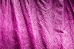 Messy fabric material background or texture Royalty Free Stock Images