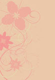 Messy Grunge Flower Background Royalty Free Stock Photo