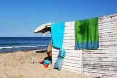 Messy holidays, at the sea Royalty Free Stock Photography