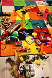Messy kids room Royalty Free Stock Photo