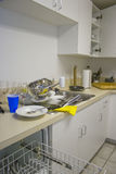 Messy kitchen Stock Photos