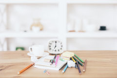 Free Messy Office Desk Royalty Free Stock Photography - 72857167
