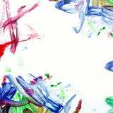 Messy Paint Background Square Royalty Free Stock Photo