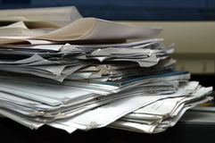 Messy paper Royalty Free Stock Photos