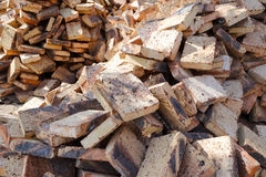 Messy poor quality brick Stock Photography