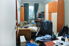 Messy room stock photography