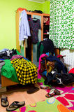 Messy room Royalty Free Stock Images