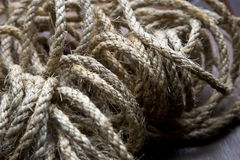 Messy rope background Stock Image