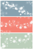 Messy swirling floral background Royalty Free Stock Images