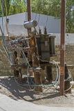 Messy transformer Royalty Free Stock Image