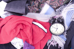 Messy travel bag Stock Photography