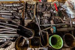 Messy workshop Stock Photography