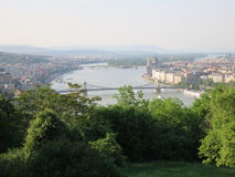 mest ฺBudapest stadslandskapsikt Arkivfoton