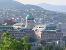 mest ฺBudapest stadslandskapsikt Royaltyfri Fotografi