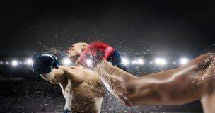 Mest bra ögonblick för askmatch Blandat massmedia Royaltyfri Fotografi