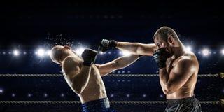 Mest bra ögonblick för askmatch Blandat massmedia Royaltyfria Foton