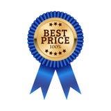 Mest bra design för prismedaljillustration royaltyfri illustrationer