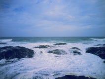 Mest bra kust Fotografering för Bildbyråer