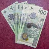 Mest bra polsk valuta Royaltyfri Fotografi