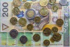 Mest bra polsk valuta Royaltyfri Bild