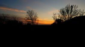 Mest bra solnedgång! Royaltyfria Bilder