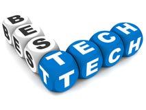 Mest bra teknologi stock illustrationer