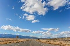 Mest ensam väg i världen Arkivfoto