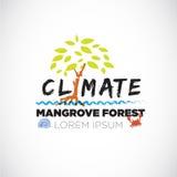 Mest forrest bokstav för mangrove spara skogen - Fotografering för Bildbyråer