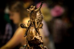 Mest _Greatest utomhus- show för Calgary rusning på jord, Alberta, Kanada Royaltyfria Foton