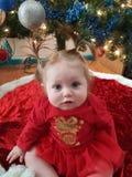 Mest gullig julgåva fotografering för bildbyråer