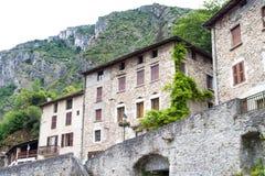 Mest härlig by i provence Arkivbild