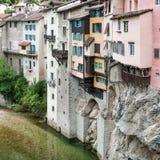 Mest härlig by i provence Arkivfoto