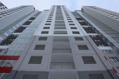 Mest högväxt bostads- byggnad Arkivfoto