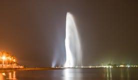 mest högväxt springbrunn Fotografering för Bildbyråer