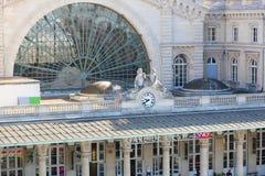Mest l'est Gare de - Paris Royaltyfria Foton
