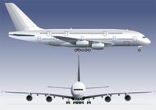 mest lagest dubbel jetflygplan för däck Royaltyfri Fotografi