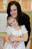 Mest lycklig moder och dotter Fotografering för Bildbyråer