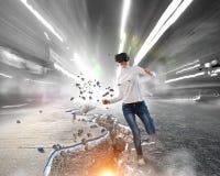 Mest mäktiga underhållningteknologier Blandat massmedia Royaltyfri Foto