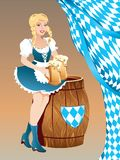 mest oktoberfest Stock Illustrationer