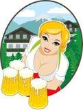 mest oktoberfest bavarian Arkivfoto