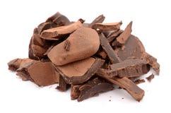 mest smaklig choklad Royaltyfria Foton