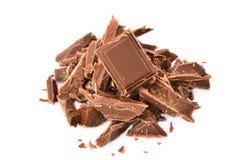 mest smaklig choklad Arkivbild
