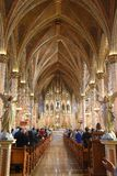 Mest sweetest hjärta av Mary Cathedral i Detroit royaltyfria bilder