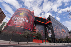 Mestalla Stadium Stock Photos